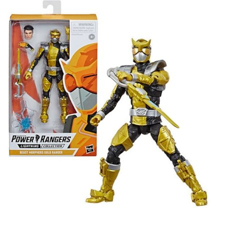 Power Rangers Beast Morphers Gold Ranger - Hasbro