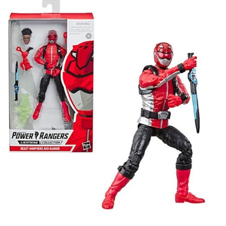 Power Rangers Beast Morphers Red Ranger - Hasbro