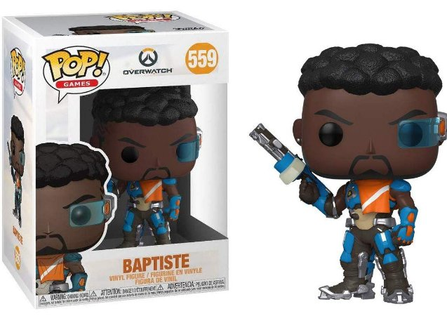 Overwatch Baptiste Pop - Funko
