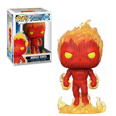 Marvel Fantastic Four Human Torch Pop - Funko
