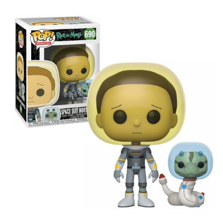 Rick and Morty Space Suit Morty with Snake Pop - Funko