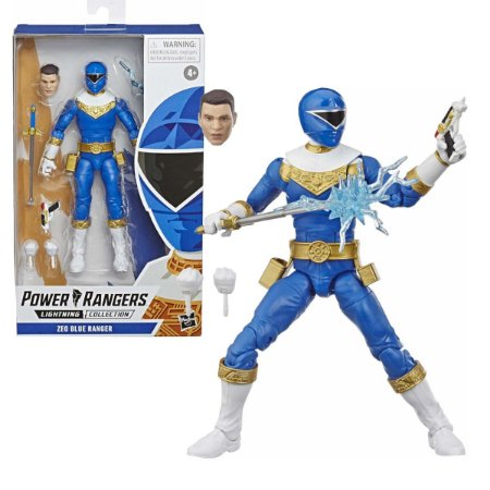 Power Rangers Zoe Blue Ranger - Hasbro