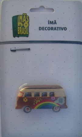 Imã Decorativo Kombi - Imãs do Brasil