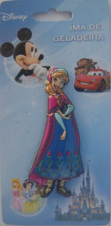 Imã Decorativo Disney Frozen Anna - Imãs do Brasil
