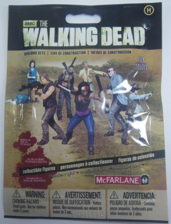 The Walking Dead Building Sets Blind Bag Human - McFarlane