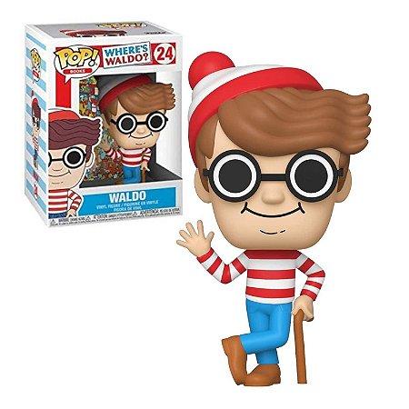 Where's Waldo Waldo Pop - Funko