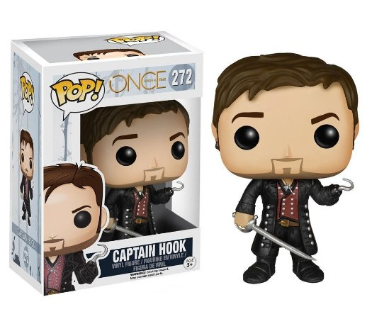 Once Upon a Time Captain Hook Pop! - Funko
