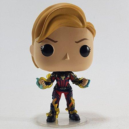 Loose Vingadores Avengers Endgame Captain Marvel Pop - Funko