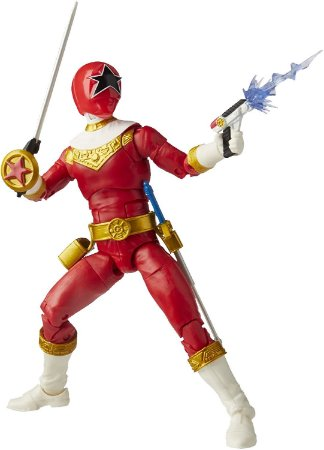 Power Rangers Lightning Zeo Red Ranger - Hasbro