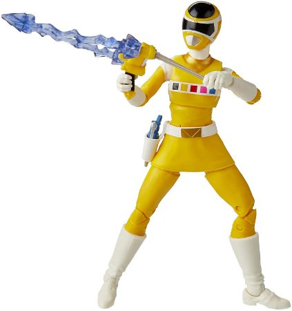 Power Rangers Lightning In Space Yellow Ranger - Hasbro