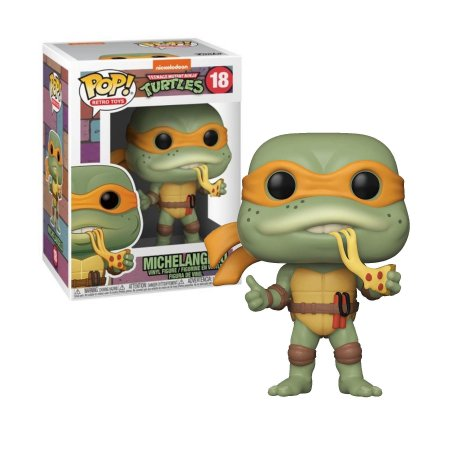 Tartarugas Ninja Teenage Mutant Ninja Turtles Michelangelo Pop - Funko