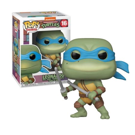 Tartarugas Ninja Teenage Mutant Ninja Turtles Leonardo Pop - Funko