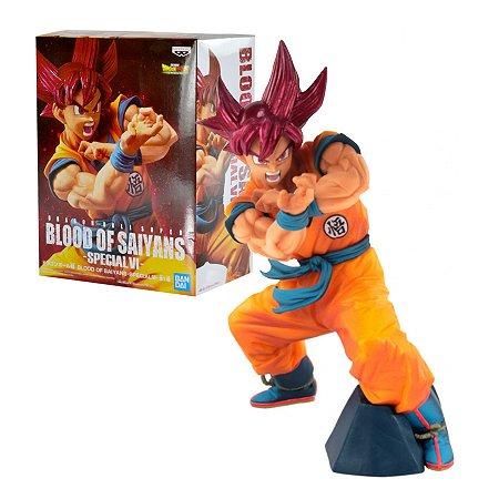 Dragon Ball Super Blood of Saiyans Special VI Goku Super Saiyajin God - Bandai Banpresto