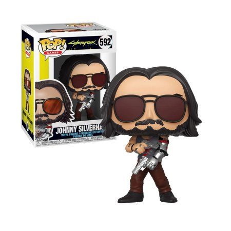 Cyberpunk 2077 Johnny Silverhand 2 Pop - Funko