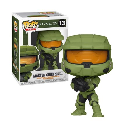 Halo Master Chief with MA40 Assault Rifle Pop - Funko