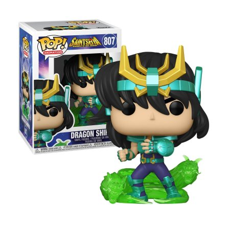 Cavaleiros do Zodiaco Saint Seiya Dragon Shiryu Pop - Funko