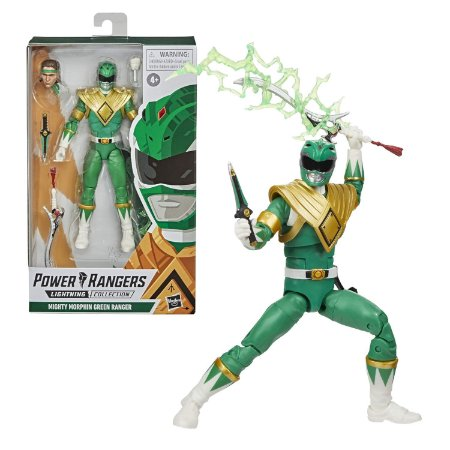 Power Rangers Lightning Mighty Morphin Green Ranger - Hasbro