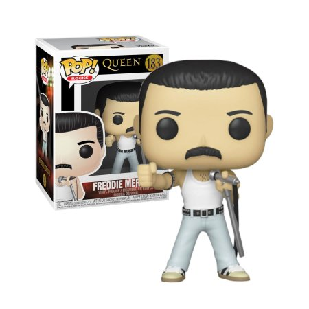 Queen Freddie Mercury Radio Gaga 1985 Pop - Funko
