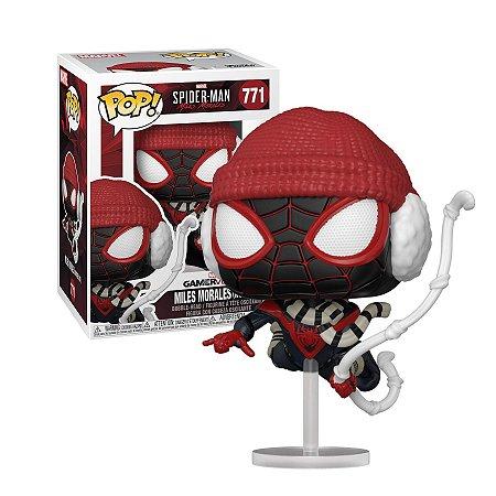 Spider-Man Miles Moreles GameVerse Miles Morales Winter Suit Pop - Funko