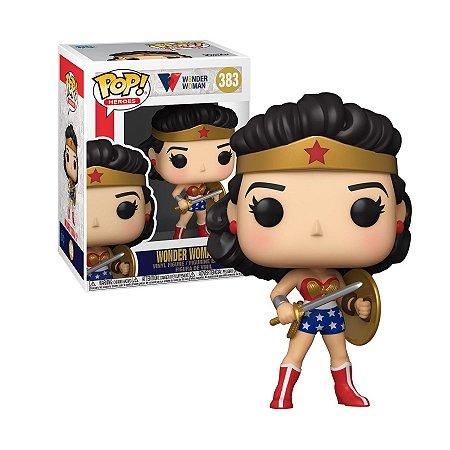 Wonder Woman 80th Anniversary Wonder Woman Golden Age Pop - Funko
