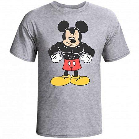 Camiseta Mickey Mouse cor Cinza