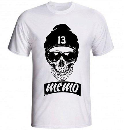 Camiseta Caveira 13 Memo