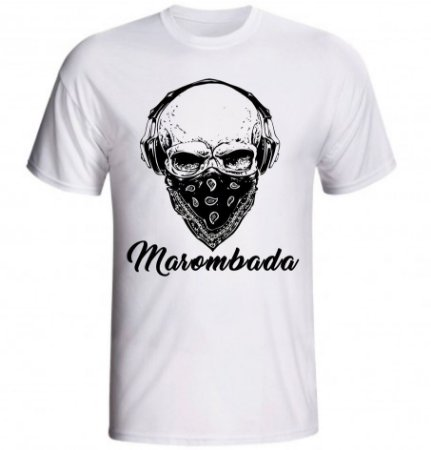 Camiseta Caveira Marombada