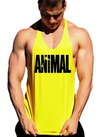Regata Cavada Animal Cor Amarela