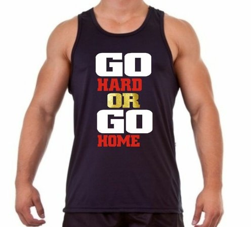 Regata Masculina Go Hard Or Go Home