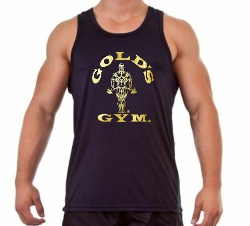 Regata Masculina Golds Gym - Ouro