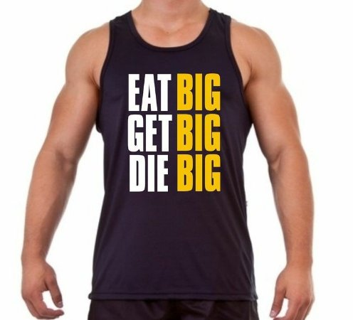 Regata Masculina Eat BIG