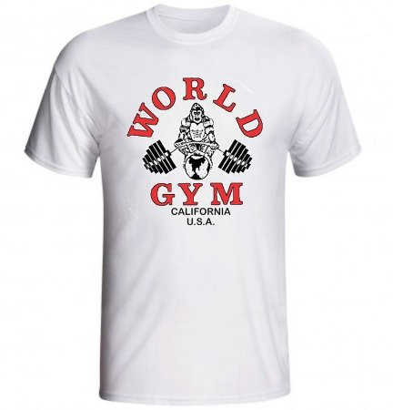 Camiseta World Gym