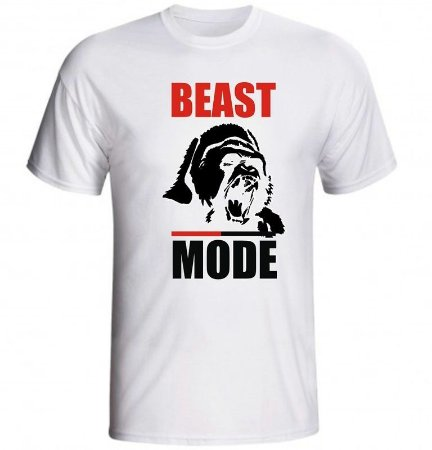 2fba4e630 Camiseta Fitness Beast Mode - Loja Marombada - Roupas de Academia ...