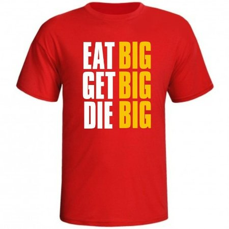 Camiseta Eat Big