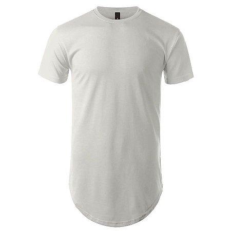 Camisa Longline cor Branca