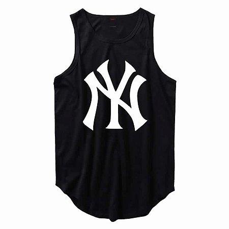 Regata Longline New York Yankees cor Preta