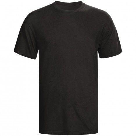 Camiseta Preta Lisa Sem Estampa