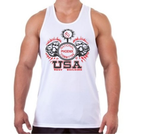 Regata Masculina USA BodyBuilding