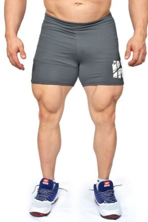 Short Masculino Insano Workout Shorts Cor Grafite