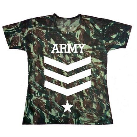 Camiseta Camuflada Army