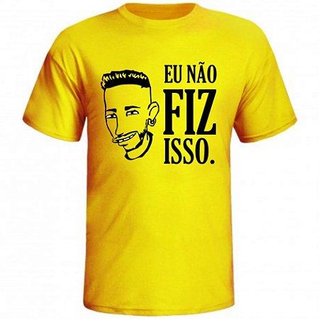 Camiseta Neymar Eu Não Fiz Isso. Os Simpsons