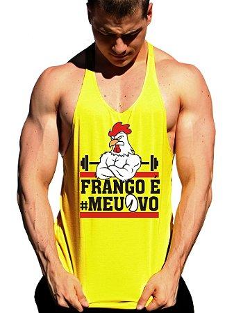 Regata Cavada Frango É Meu Ovo