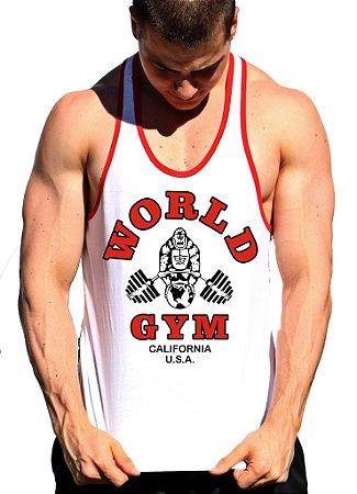 Regata Cavada World Gym com viés
