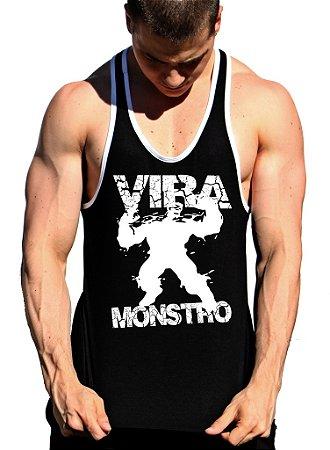 Camiseta Regata Cavada Vira Monstro - Loja Marombada - Roupas de ... 678c924c2a9