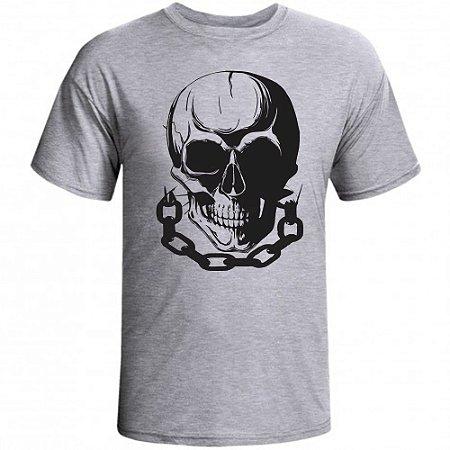 Camiseta Caveira - Loja Marombada - Roupas de Academia 64ac03515aa
