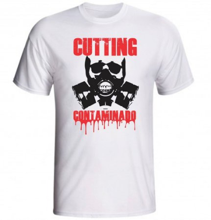 Camiseta Cutting Contaminado