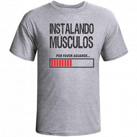 Camiseta Instalando Músculos