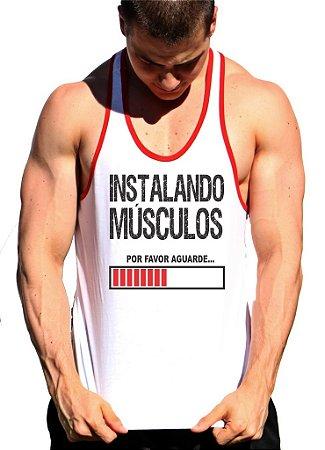 Regata Cavada Instalando Músculos com viés