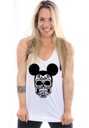 Regata Cavada Feminina Mickey