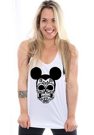 793d28e9f8 Blusa Regata Cavada Feminina Mickey - Loja Marombada - Roupas de ...